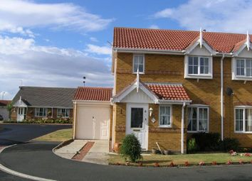 Thumbnail 3 bedroom semi-detached house to rent in Priory Park, Amble, Morpeth