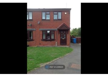Thumbnail 2 bed semi-detached house to rent in Heathbank Drive, Cannock