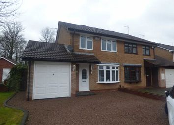 Thumbnail 3 bed semi-detached house for sale in Blackbrook Way, Wolverhampton, West Midlands