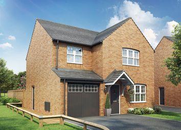 "Thumbnail 4 bed detached house for sale in ""The Roseberry  "" at Oakington Road, Cottenham, Cambridge"