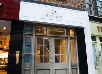 Thumbnail Studio to rent in Fetter Lane, London
