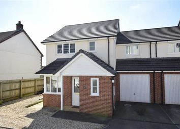 Thumbnail 3 bed link-detached house for sale in Littlebridge Meadow, Bridgerule, Holsworthy