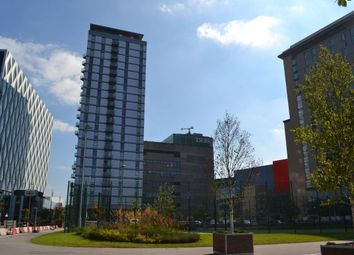 Thumbnail 1 bed flat to rent in Media City, No1 Building, Salford Quays