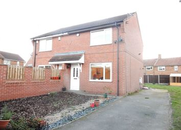 Thumbnail 2 bed semi-detached house for sale in Cedar Close, Carlton-In-Lindrick, Worksop