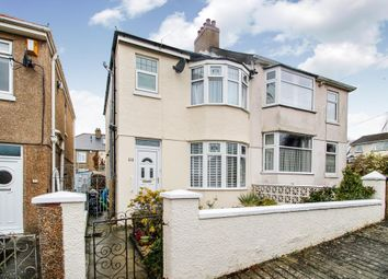 Thumbnail 3 bedroom semi-detached house for sale in Oakcroft Road, Beacon Park, Plymouth