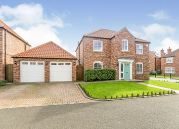 Thumbnail 4 bed detached house for sale in Chancery Court, Gateforth, Selby