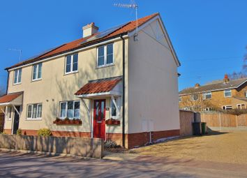 Thumbnail 3 bed semi-detached house for sale in Crown Road, Buxton, Norwich