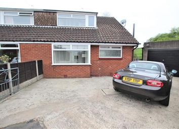 Thumbnail 4 bed semi-detached house for sale in Bannister Close, Higher Walton, Preston