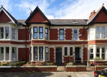 Thumbnail 5 bedroom terraced house for sale in Kimberley Road, Roath, Cardiff