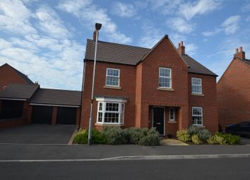 Thumbnail 4 bed detached house for sale in Damson Drive, Barrow Upon Soar, Leicestershire