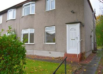 Thumbnail 3 bed flat to rent in Menock Road, Glasgow