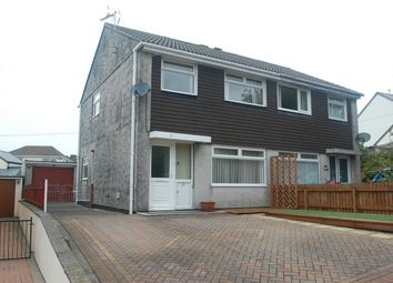 Thumbnail 3 bed semi-detached house for sale in Symons Close, St Austell, Cornwall
