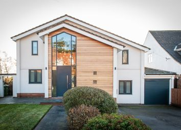 Thumbnail 4 bed detached house for sale in Hill Wootton Road, Leek Wootton, Warwick