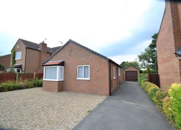 Thumbnail 2 bed detached bungalow for sale in Brown Moor Road, Stamford Bridge, York