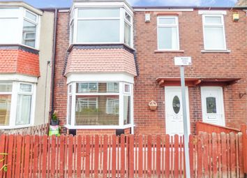 Thumbnail 3 bed terraced house for sale in Grove Road, Redcar, North Yorkshire