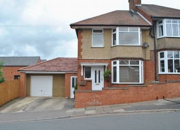 Thumbnail 3 bedroom semi-detached house for sale in Yelvertoft Road, Kingsthorpe, Northampton