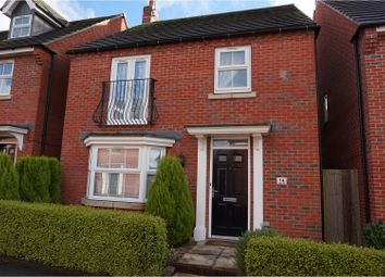 Thumbnail 4 bed detached house for sale in Copgrove Close, Leicester