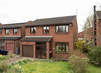 Thumbnail 4 bed detached house for sale in Atcherley Close, York