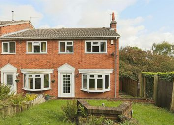 3 bed end terrace house for sale in Haddon Close, Carlton, Nottinghamshire NG4
