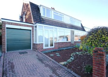 Thumbnail 3 bedroom semi-detached house for sale in Hawthorn Crescent, Gilesgate Moor, Durham