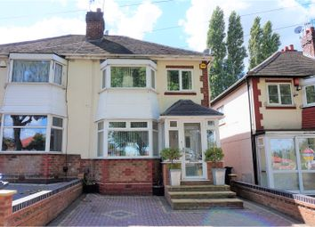 Thumbnail 3 bedroom semi-detached house for sale in Kingstanding Road, Kingstanding, Birmingham