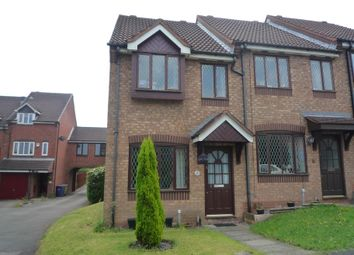 Thumbnail 2 bed town house to rent in Almond Close, Heath Hayes, Cannock