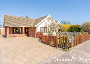 Thumbnail 3 bed detached bungalow for sale in Norwich Road, Salhouse, Norwich
