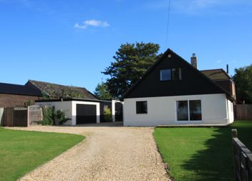 Thumbnail 5 bed detached house to rent in Puffins, Longwood Road, Owslebury, Winchester, Hampshire