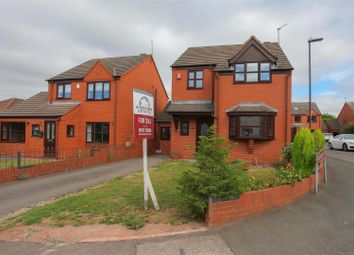 Thumbnail 4 bed detached house for sale in Castle Road, Walsall Wood, Walsall