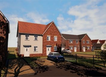 Thumbnail 2 bedroom semi-detached house for sale in Bucklesham Road, Foxhall, Ipswich, Suffolk