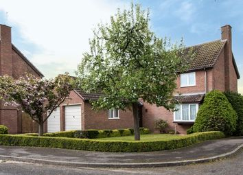 Thumbnail 4 bed detached house for sale in Huntings Drive, Sawtry, Huntingdon, Cambridgeshire.