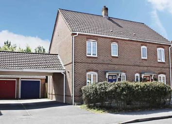 Thumbnail 3 bed semi-detached house for sale in Causton Road, Beggarwood, Basingstoke