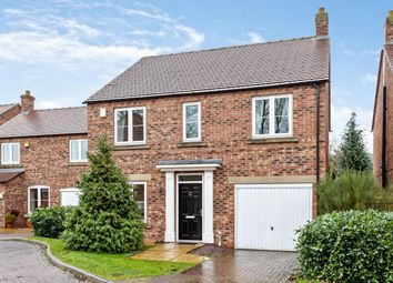 Thumbnail 4 bed detached house for sale in Eyre Close, Brayton, Selby