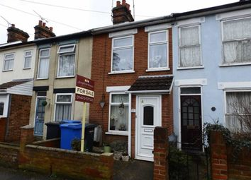 Thumbnail 2 bed terraced house for sale in Orwell Road, Ipswich, Suffolk