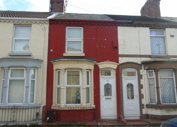 Thumbnail 2 bed terraced house to rent in Strathcona Road, Wavertree