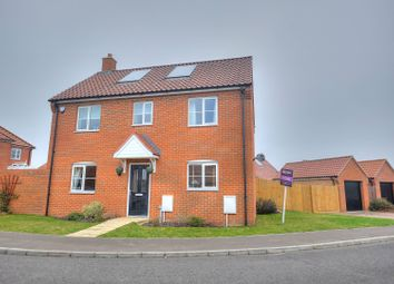 Thumbnail 3 bed detached house for sale in Burnt Fen Way, Hoveton, Norwich