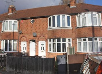 Thumbnail 3 bed town house for sale in Bradston Road, Aylestone, Leicester