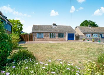 Thumbnail 3 bed detached bungalow for sale in Mill Road, Wistow, Huntingdon