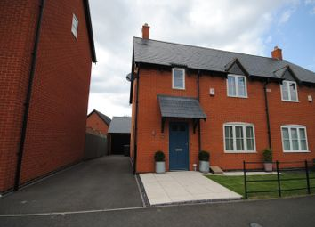 Thumbnail 3 bed semi-detached house to rent in Armitage Drive, Rothley, Leicester