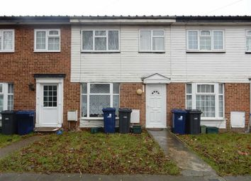 Thumbnail 3 bed terraced house to rent in Bixley Close, Southall, Middlesex