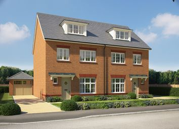 "Thumbnail 3 bed semi-detached house for sale in ""Lincoln"" at Chester Road, Woodford"
