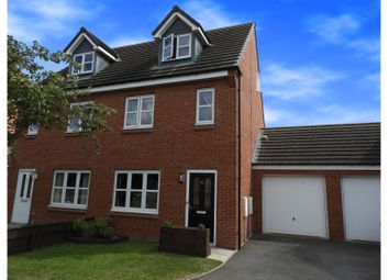 Thumbnail 3 bed semi-detached house for sale in Eamont Drive, Darlington