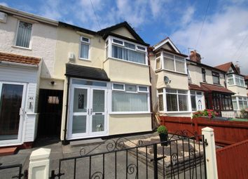 Thumbnail 3 bedroom terraced house for sale in Hythe Avenue, Litherland, Liverpool