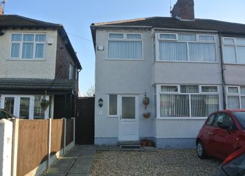 Thumbnail 3 bed semi-detached house to rent in Wentworth Grove, Liverpool