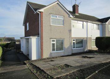 Thumbnail 2 bed flat to rent in Pant-Y-Celyn Road, Llandough, Penarth