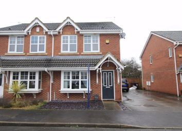 Thumbnail 3 bed semi-detached house for sale in Longacre, Hindley Green, Wigan