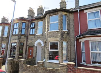 Thumbnail 3 bedroom terraced house to rent in Lorne Park Road, Lowestoft