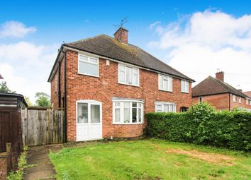 Thumbnail 3 bed semi-detached house for sale in Holmden Avenue, Wigston, Leicester