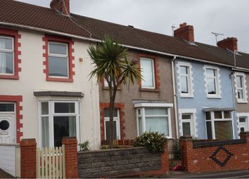 Thumbnail 2 bed terraced house to rent in Tycoch Road, Sketty