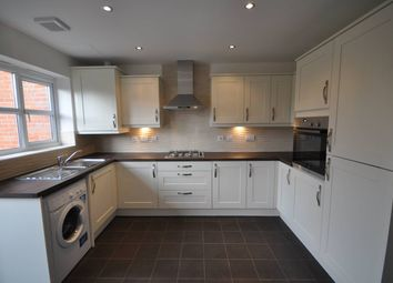 Thumbnail 2 bed town house to rent in Blakeholme Court, Burton On Trent, Staffordshire